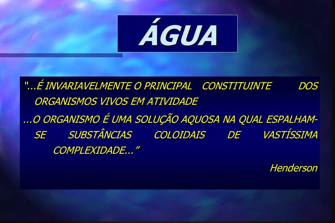 CONTROLE CELULAR DA ÁGUA E SOLUTOS MEMBRANA aquaporo H2OH2OH2OH2O H2OH2OH2OH2O PINOCITOSE PROTEINASTRANSPORTANDOSOLUTOS RNA 3Na 2K - + Na+ H+