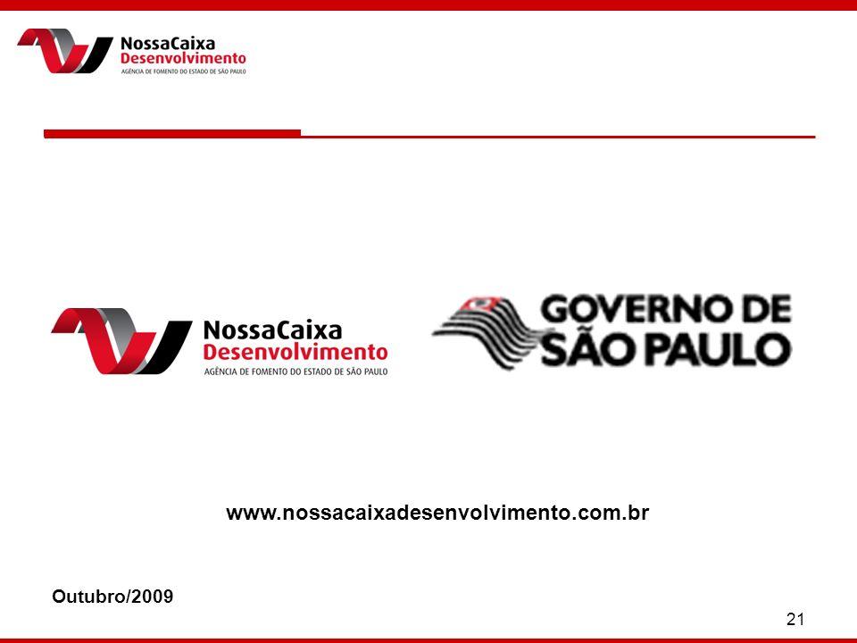 21 Outubro/2009 www.nossacaixadesenvolvimento.com.br