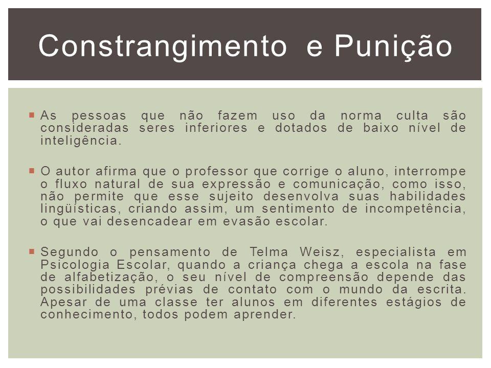 O Preconceito Linguístico Autor: Marcos Bagno Capitulo III Reconhecimento da Crise e Mudança de Atitude Trabalho realizado por: Ana Amélia Rodrigues M.