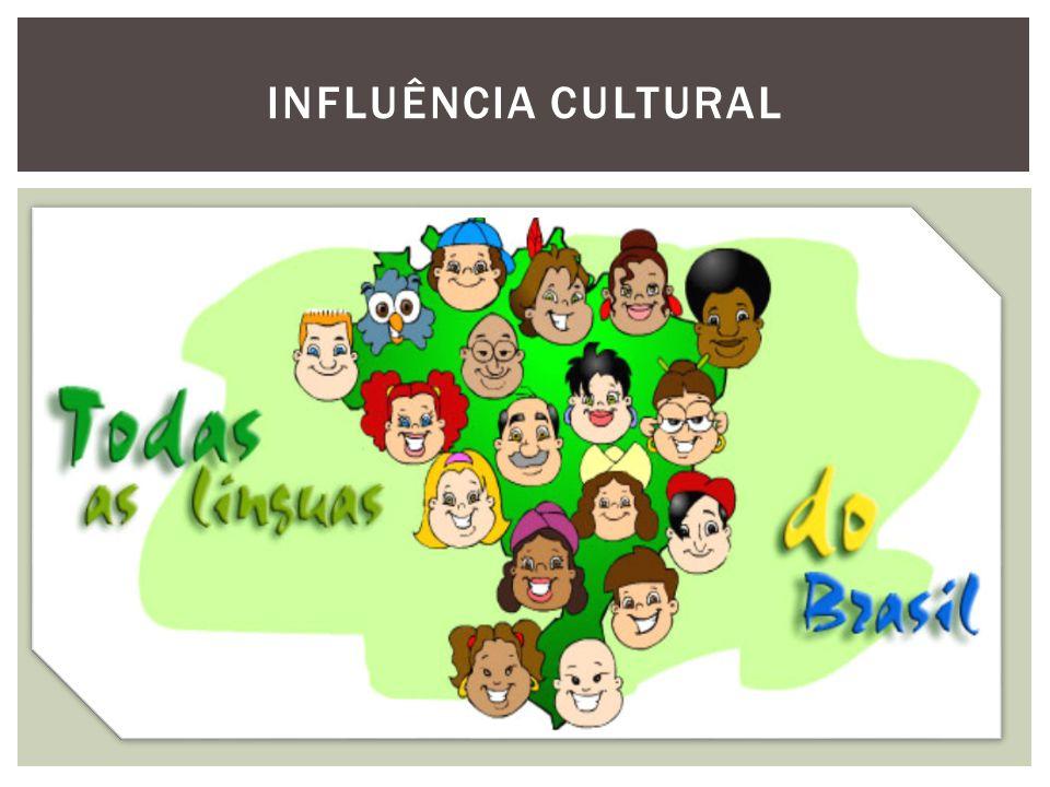 INFLUÊNCIA DA COLONIZAÇÃO A formação cultural brasileira ocorreu durante os séculos de colonização, e reflete os vários povos que constituem a demografia do nosso país.