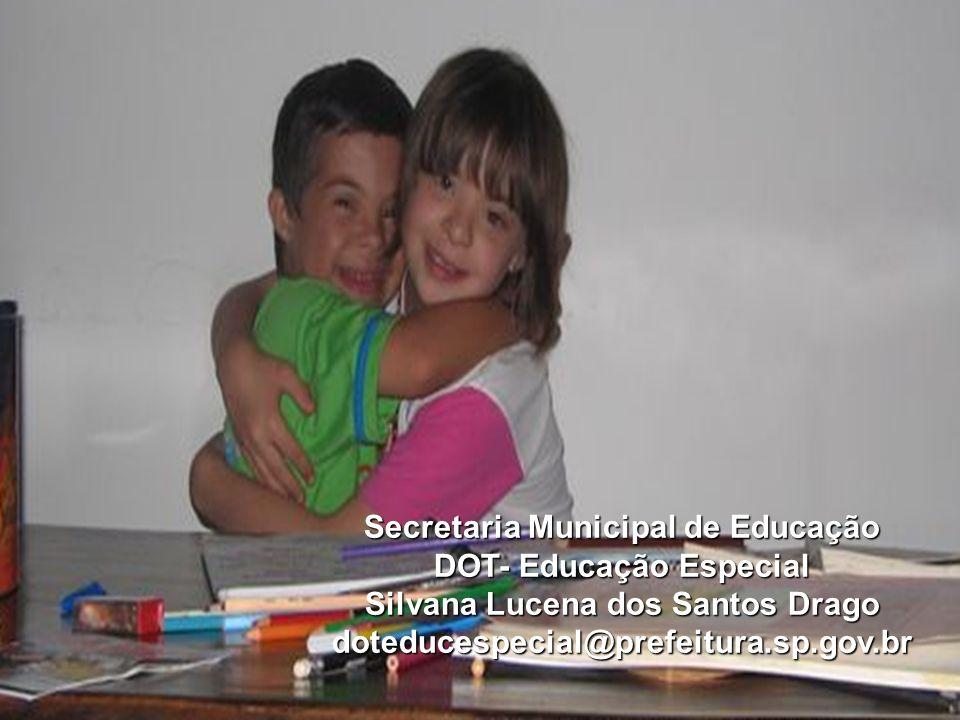29 Secretaria Municipal de Educação DOT- Educação Especial Silvana Lucena dos Santos Drago doteducespecial@prefeitura.sp.gov.br