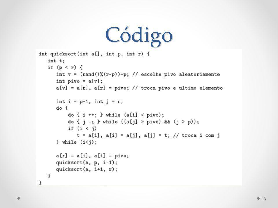 Código 16