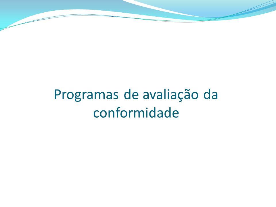Programas de avaliação da conformidade