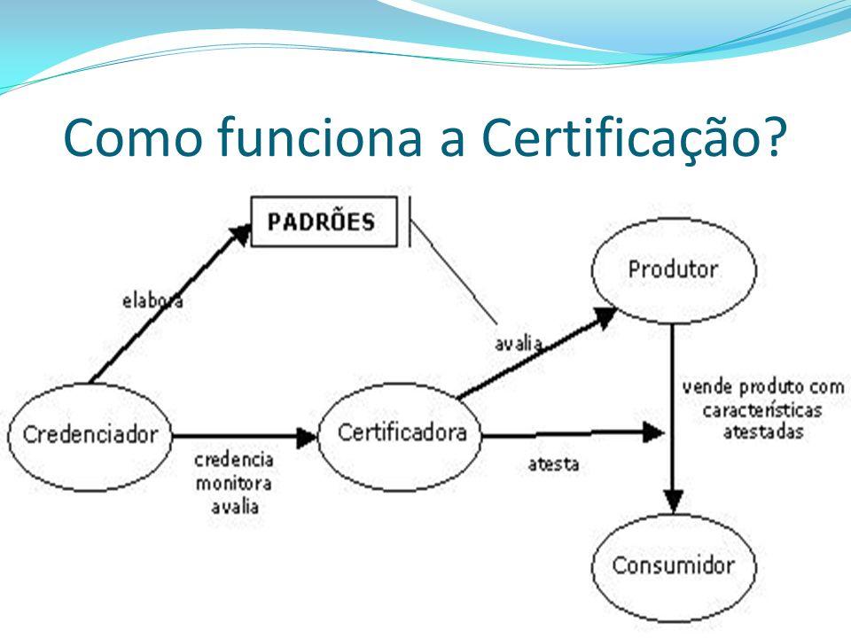 Quais os passos a seguir durante o processo de certificação.