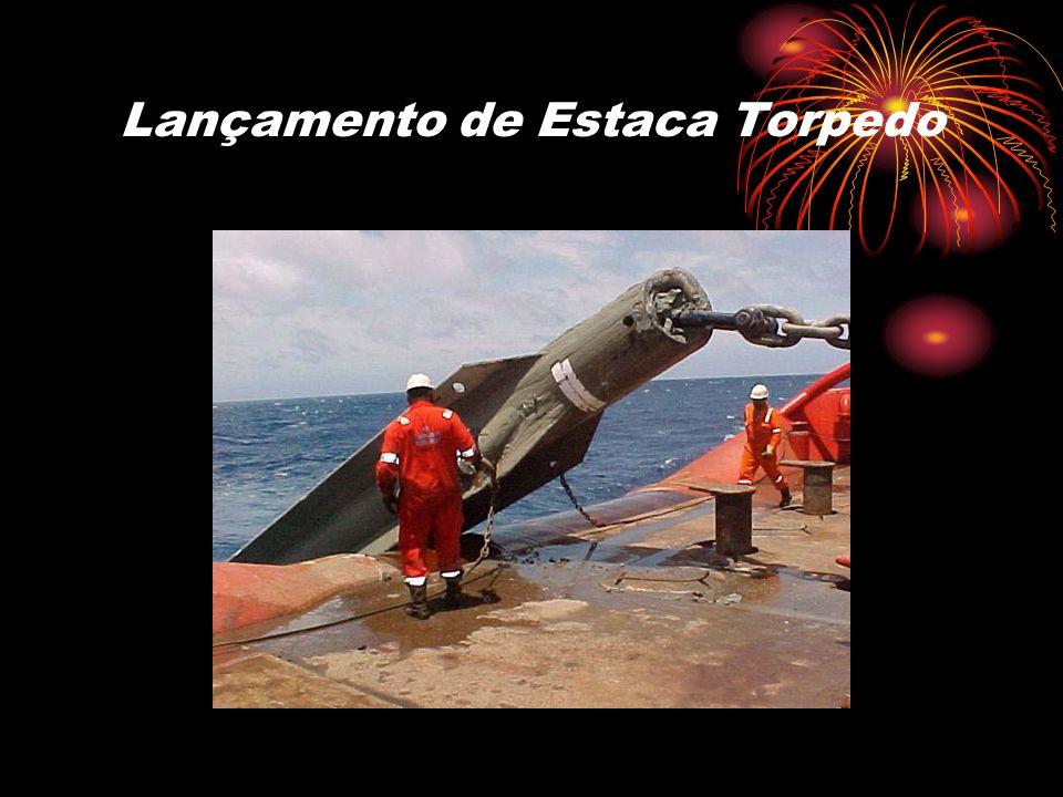 Lançamento de Estaca Torpedo
