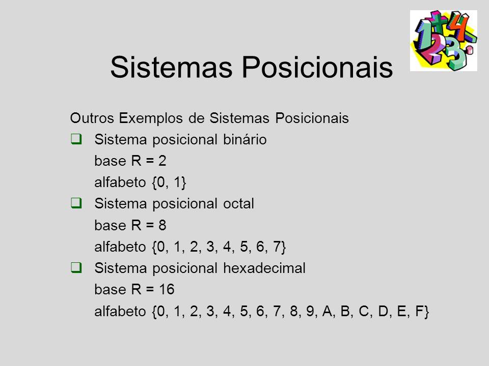 A representação posicional fornece uma forma simplificada para a escrita de números e permite a representação de qualquer número com um alfabeto (uma coleção de símbolos) restrito de dígitos.