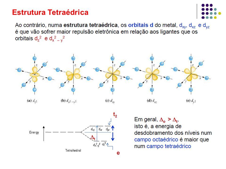 Estrutura Tetraédrica