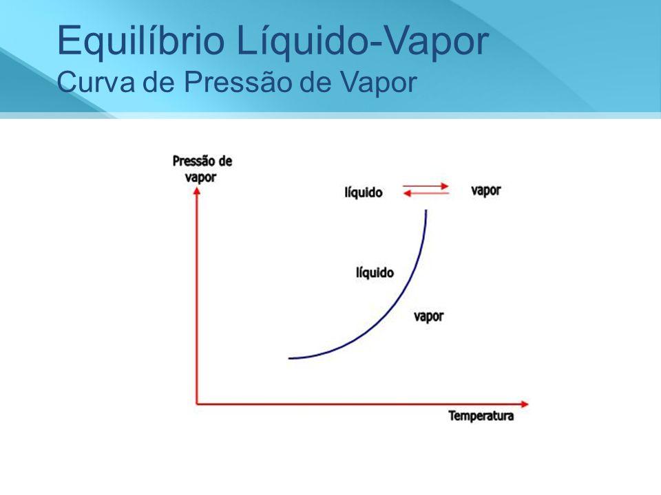 Equilíbrio Líquido-Vapor Curva de Pressão de Vapor