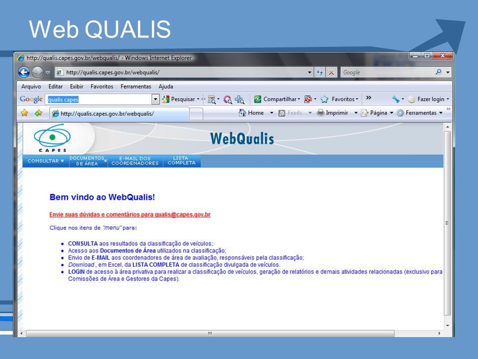 Web QUALIS