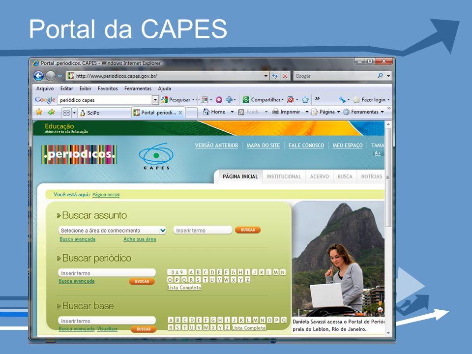 Portal da CAPES