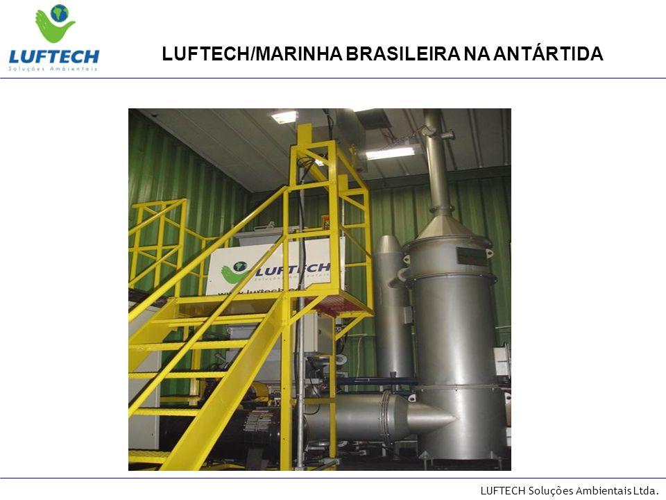 LUFTECH Soluções Ambientais Ltda. Estação Comte.Ferraz-Marinha Brasileira