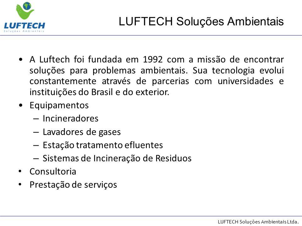 LUFTECH Soluções Ambientais Ltda.Possui equipamentos instalados em: Empresas.
