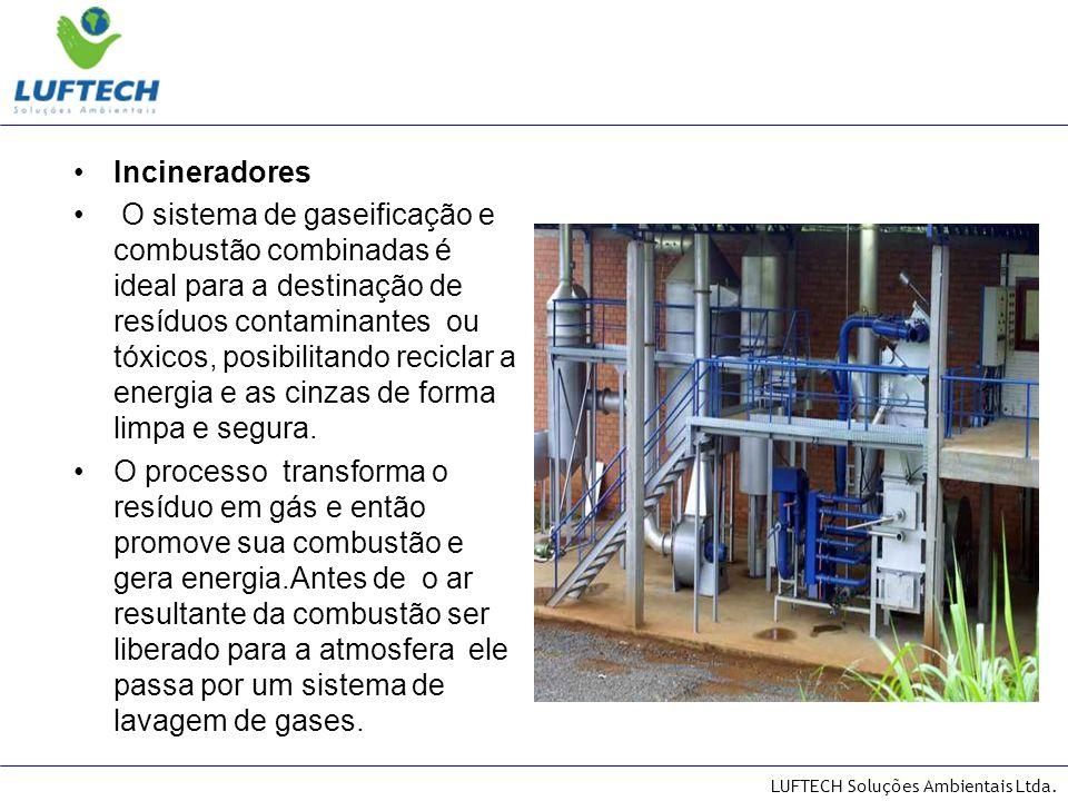 LUFTECH Soluções Ambientais Ltda. TEMPERATURAS OBTIDAS NO SISTEMA