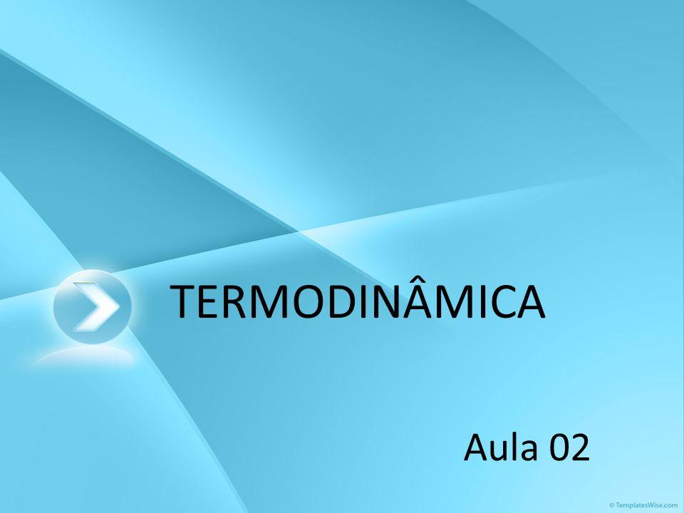 TERMODINÂMICA Aula 02