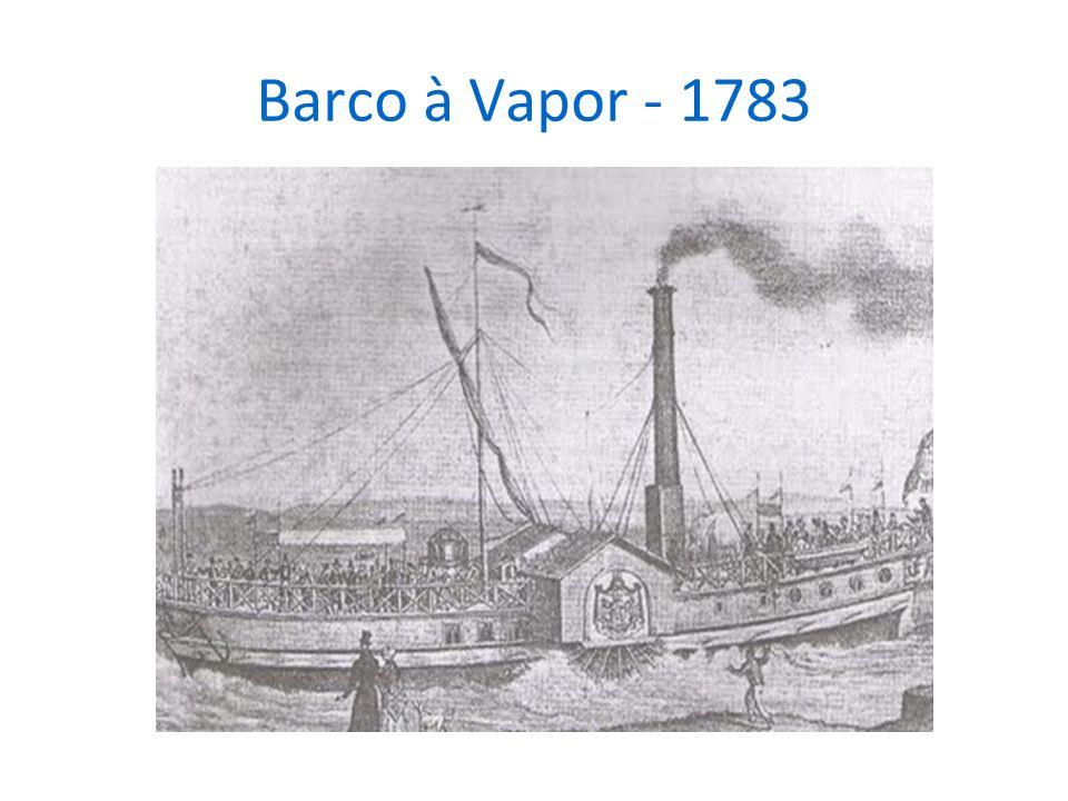 Barco à Vapor - 1783