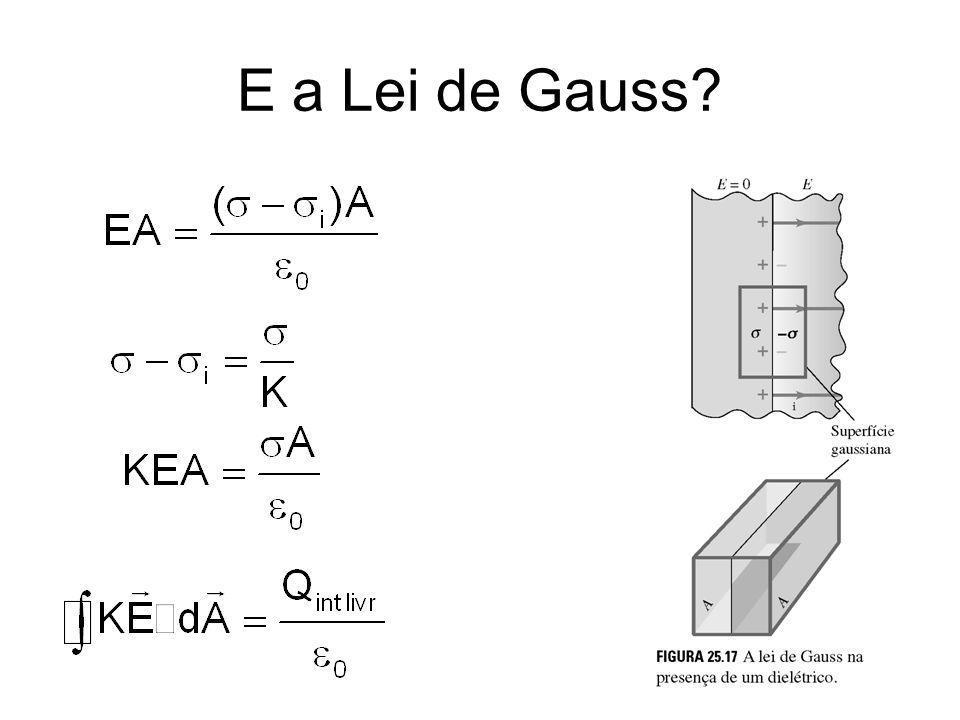 E a Lei de Gauss?