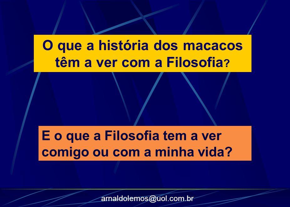 arnaldolemos@uol.com.br A Filosofia se debruça sobre fenômenos sociais que nos afetam em nosso dia a dia.