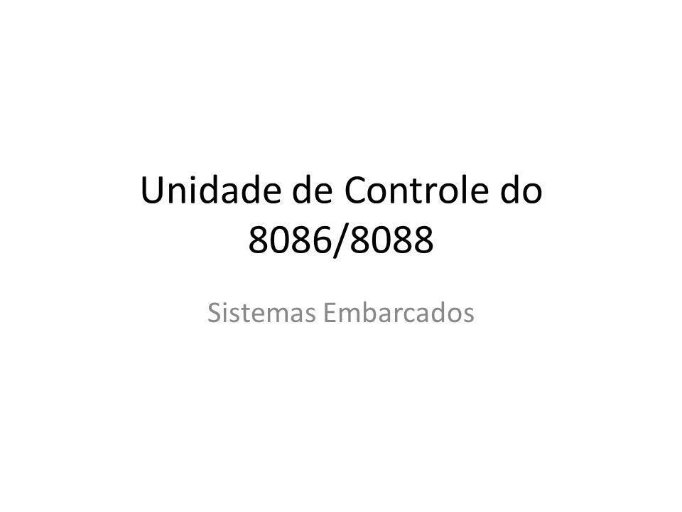 Unidade de Controle do 8086/8088 Sistemas Embarcados