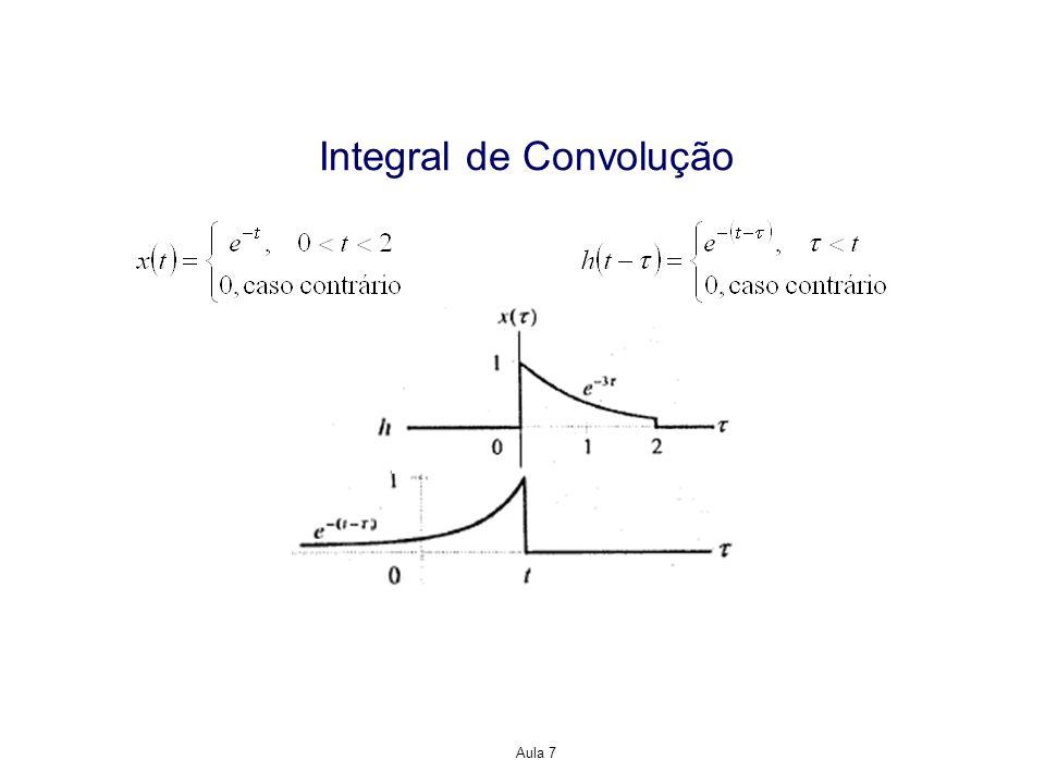 Propriedades da Representação Resposta ao Impulso para Sistemas LTI Solução: em um sistema causal, para n<0, h -1 [n]=0.