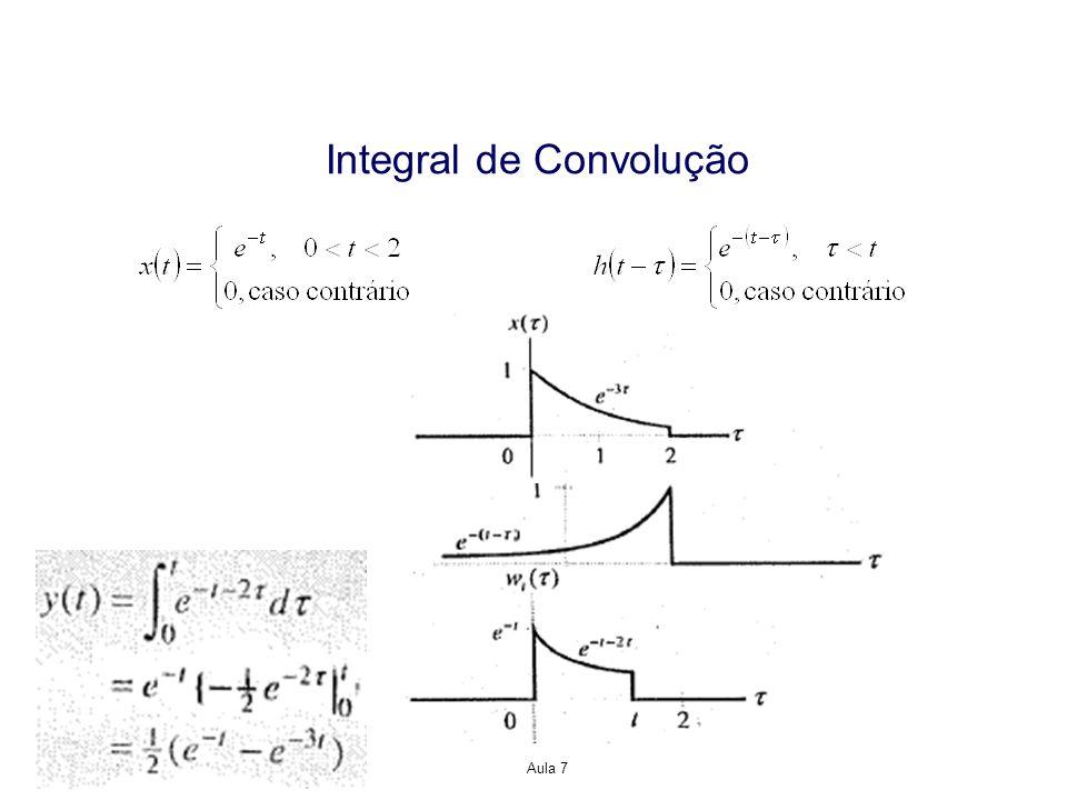 Propriedades da Representação Resposta ao Impulso para Sistemas LTI Sistema sem Memória A saída de um sistema LTI de tempo discreto pode ser descrita como Para que este sistema seja sem memória, y[n] deve depender somente de x[n] e não de x[n-k], para k0.
