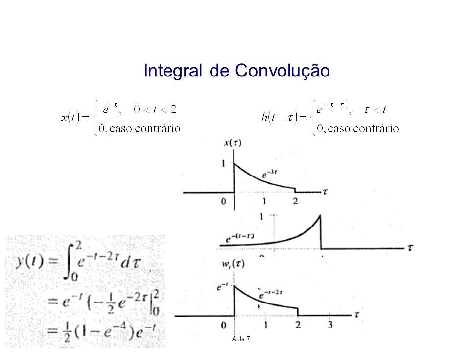 Propriedades da Representação Resposta ao Impulso para Sistemas LTI Sistema Causal Considere a saída de um sistema LTI de tempo discreto Para que este sistema seja causal, y[n] deve depender somente de valores passados e presente de x[n], de modo que h[k]=0, para k<0.