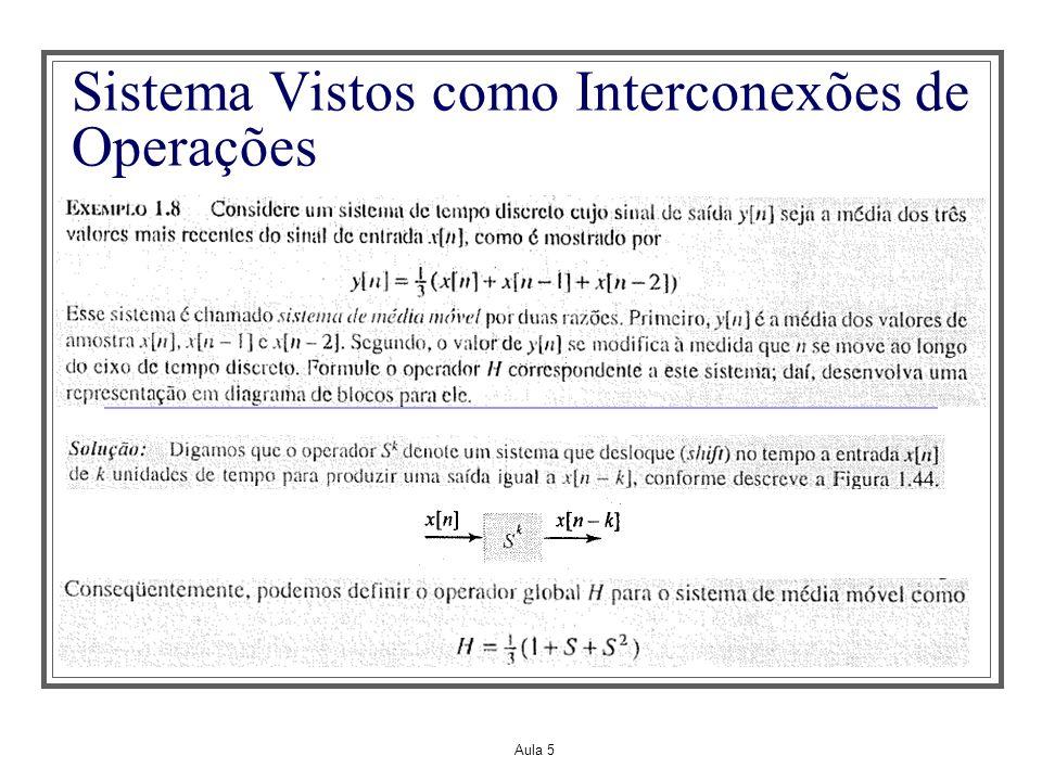 Aula 5 Propriedades dos Sistemas - Invertibilidade