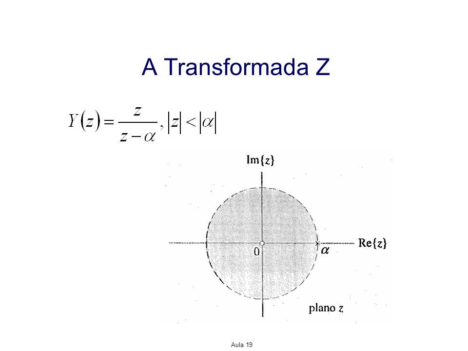 Aula 19 A Transformada Z