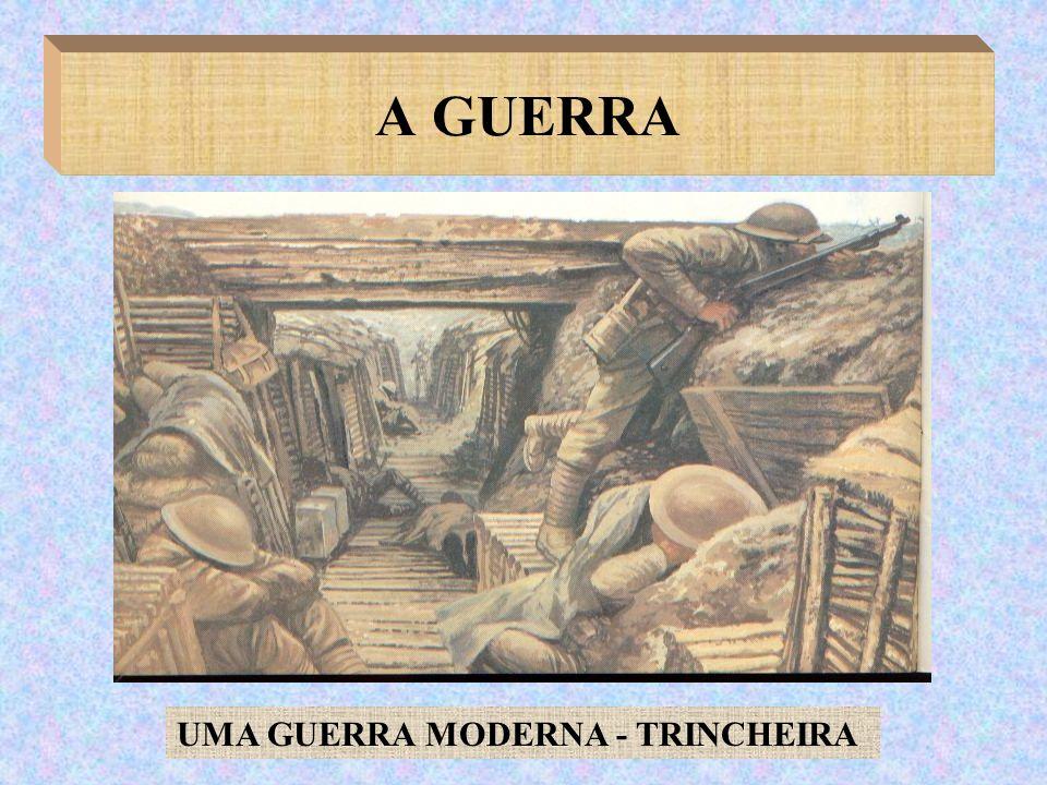 UMA GUERRA MODERNA - TRINCHEIRA