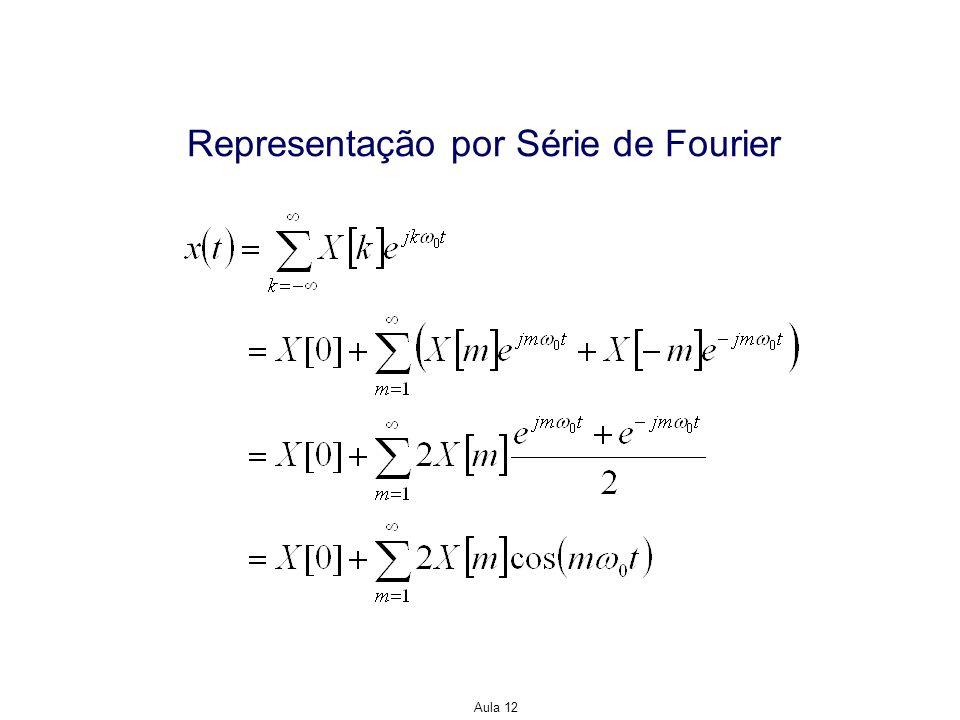 Aula 12 Representação por Série de Fourier