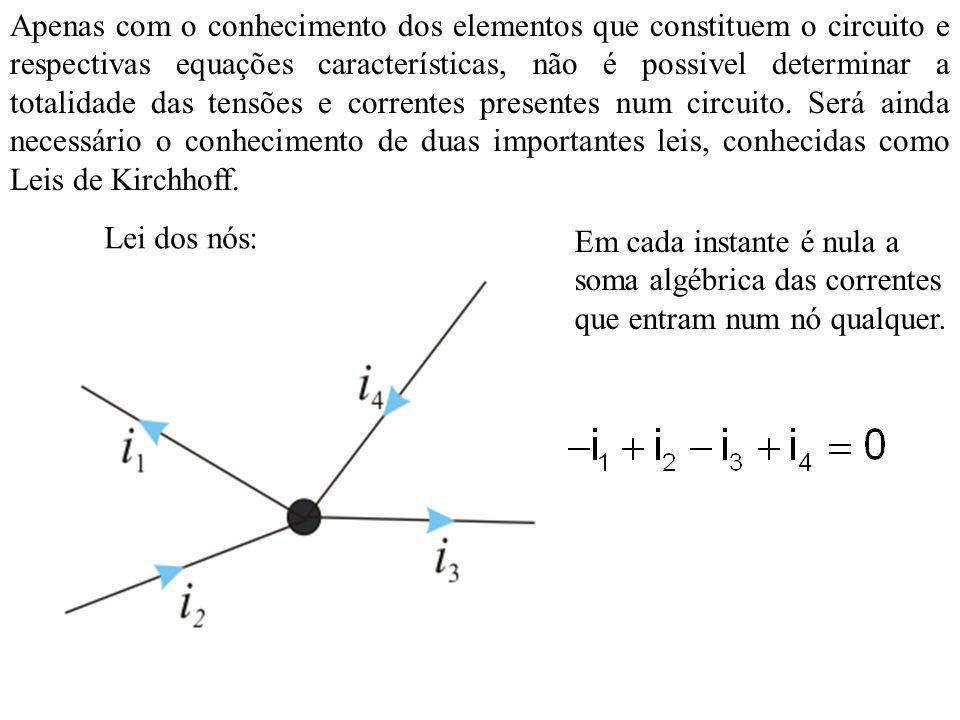 Leis de Kirchhof O circuito pode ser representado como: Repare nos nós A, B1, B2, C1, C2,...