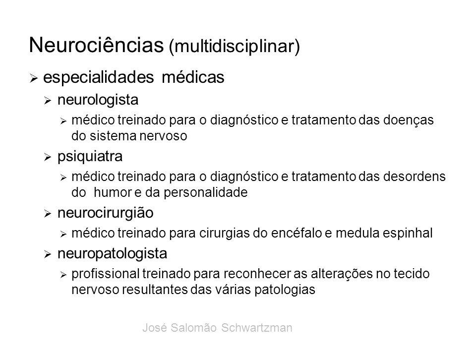 Neurociências (multidisciplinar) especialidades médicas neurologista médico treinado para o diagnóstico e tratamento das doenças do sistema nervoso ps
