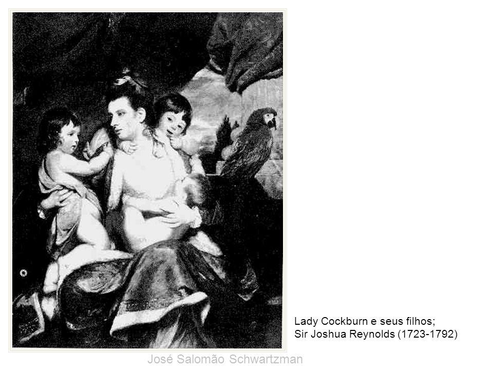 Lady Cockburn e seus filhos; Sir Joshua Reynolds (1723-1792) José Salomão Schwartzman