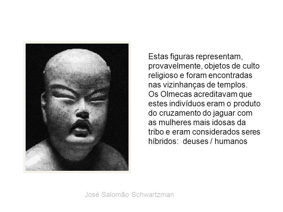 Estas figuras representam, provavelmente, objetos de culto religioso e foram encontradas nas vizinhanças de templos. Os Olmecas acreditavam que estes