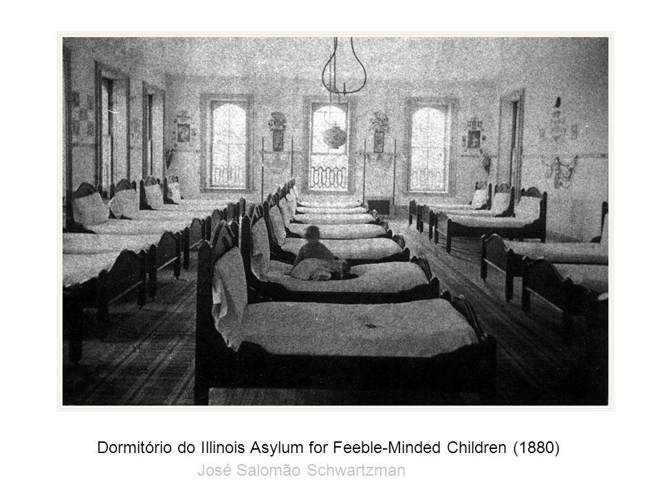 Dormitório do Illinois Asylum for Feeble-Minded Children (1880) José Salomão Schwartzman