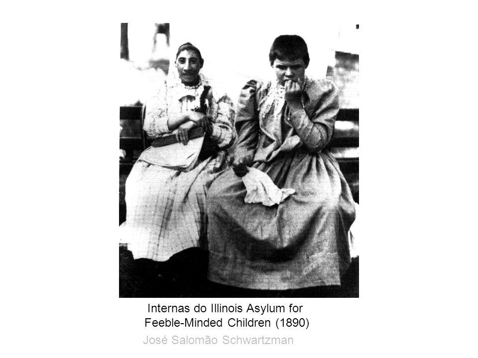 Internas do Illinois Asylum for Feeble-Minded Children (1890) José Salomão Schwartzman