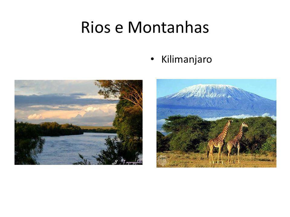 Rios e Montanhas Kilimanjaro