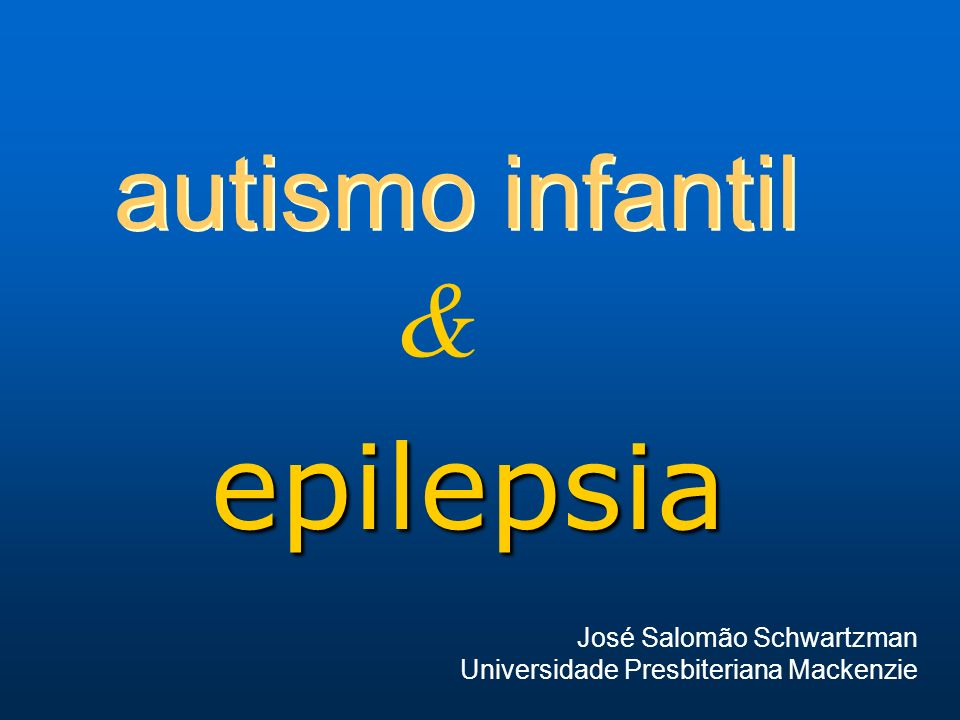 autismo & epilepsia a prevalência estimada de epilepsia entre indivíduos autistas varia de 12% a 28% a prevalência estimada de epilepsia entre indivíduos autistas varia de 12% a 28% a ocorrência de epilepsia aumenta com a crescente idade dos pacientes a ocorrência de epilepsia aumenta com a crescente idade dos pacientes anormalidades eletrencefalográficas nestes indivíduos variam de 14,3% a 82,9% anormalidades eletrencefalográficas nestes indivíduos variam de 14,3% a 82,9%