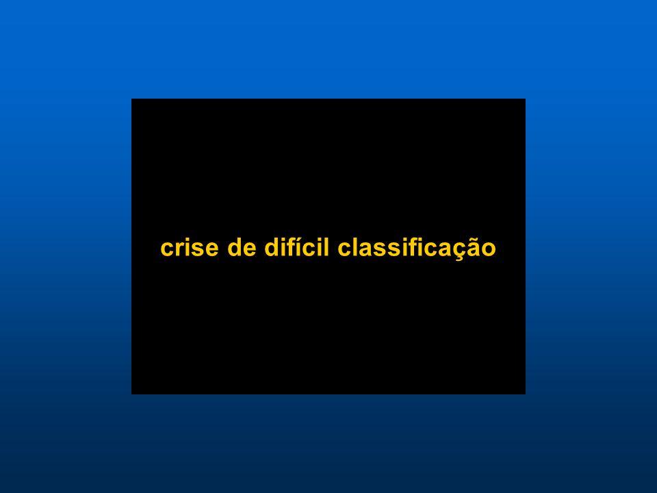 crise de difícil classificação