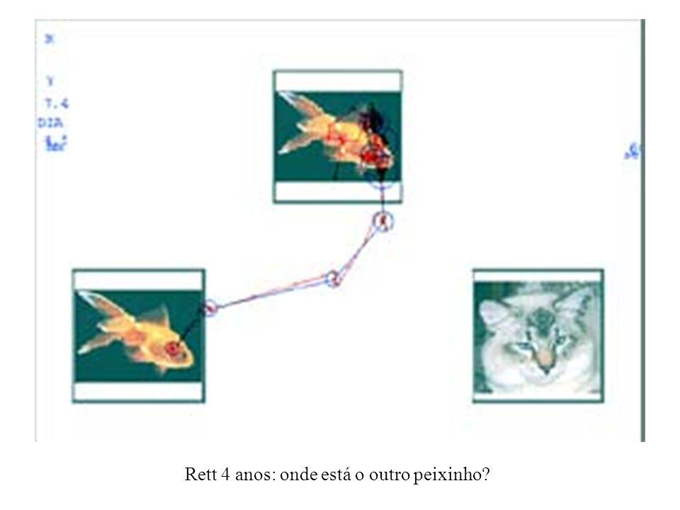 Rett 4 anos: onde está o outro peixinho?