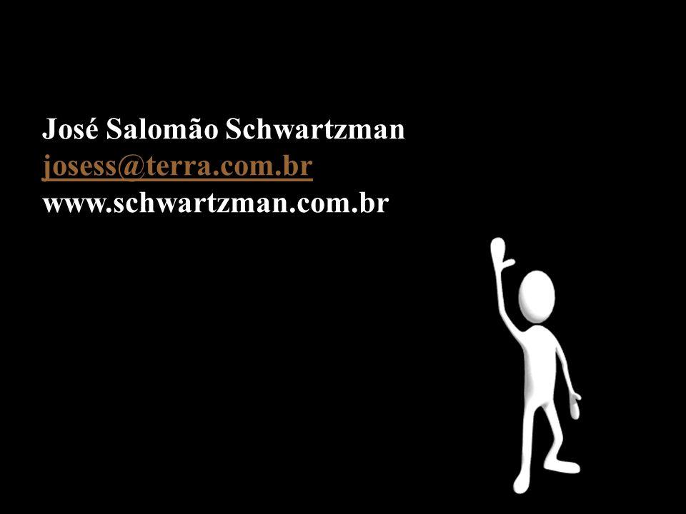 José Salomão Schwartzman josess@terra.com.br www.schwartzman.com.br