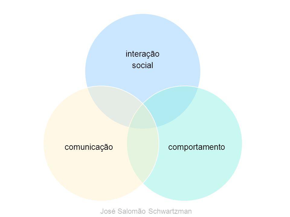 interação social comportamentocomunicação José Salomão Schwartzman