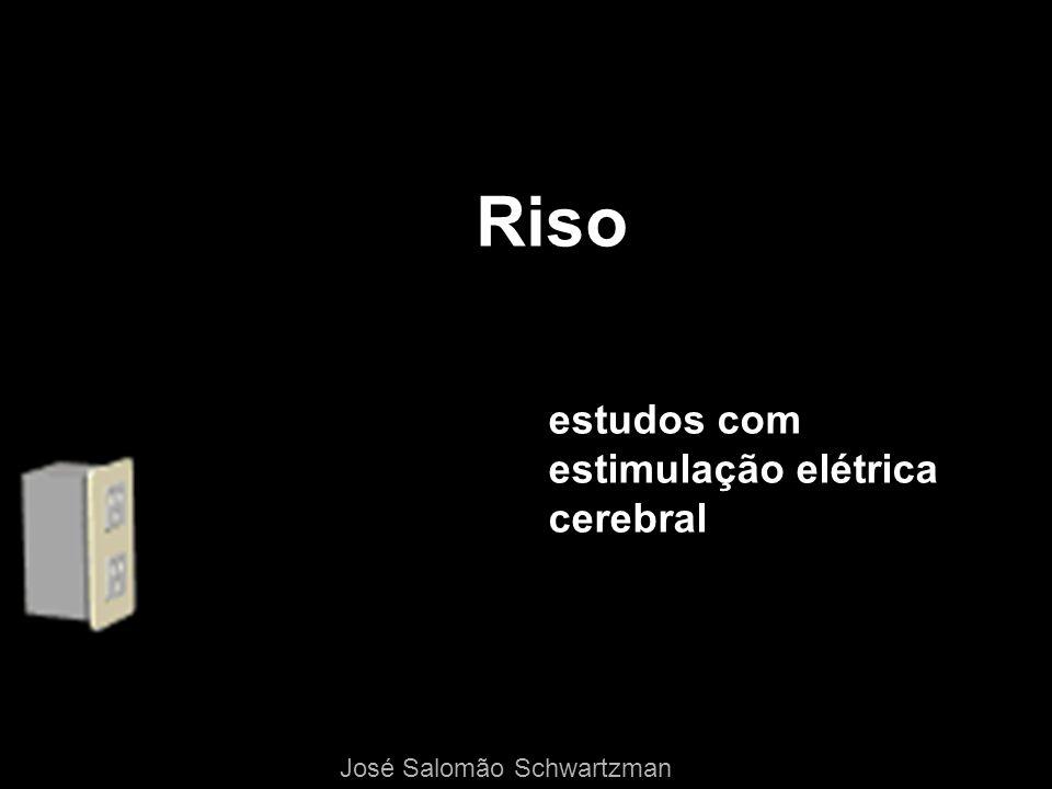 Riso estudos com estimulação elétrica cerebral José Salomão Schwartzman