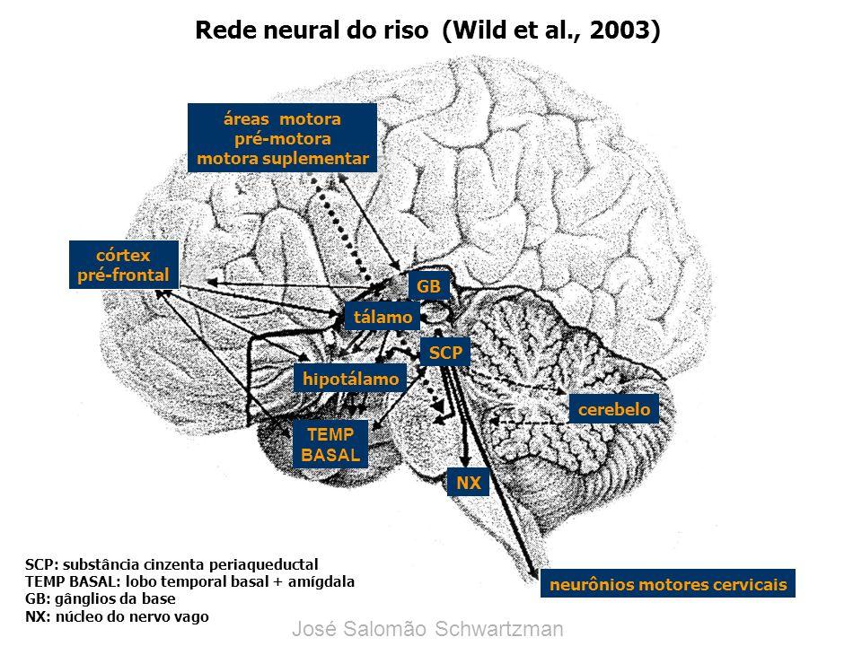 córtex pré-frontal neurônios motores cervicais cerebelo NX TEMP BASAL hipotálamo tálamo GB áreas motora pré-motora motora suplementar SCP Rede neural