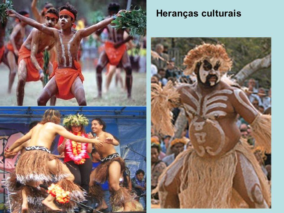 Oceania, sem dúvida, é o nome adequado para uma região repleta de ilhas, em que a presença do mar tem determinado o modo de vida de seus habitantes.