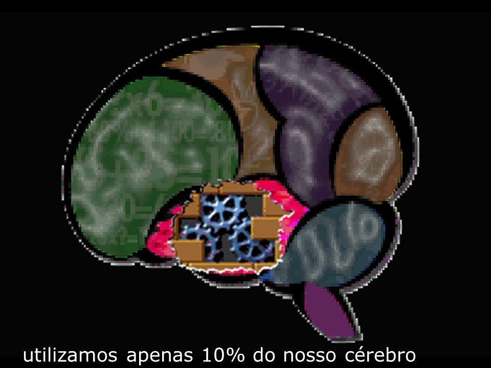 utilizamos apenas 10% do nosso cérebro