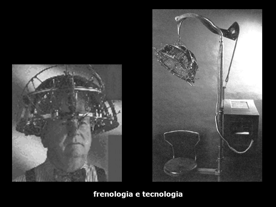 frenologia e tecnologia