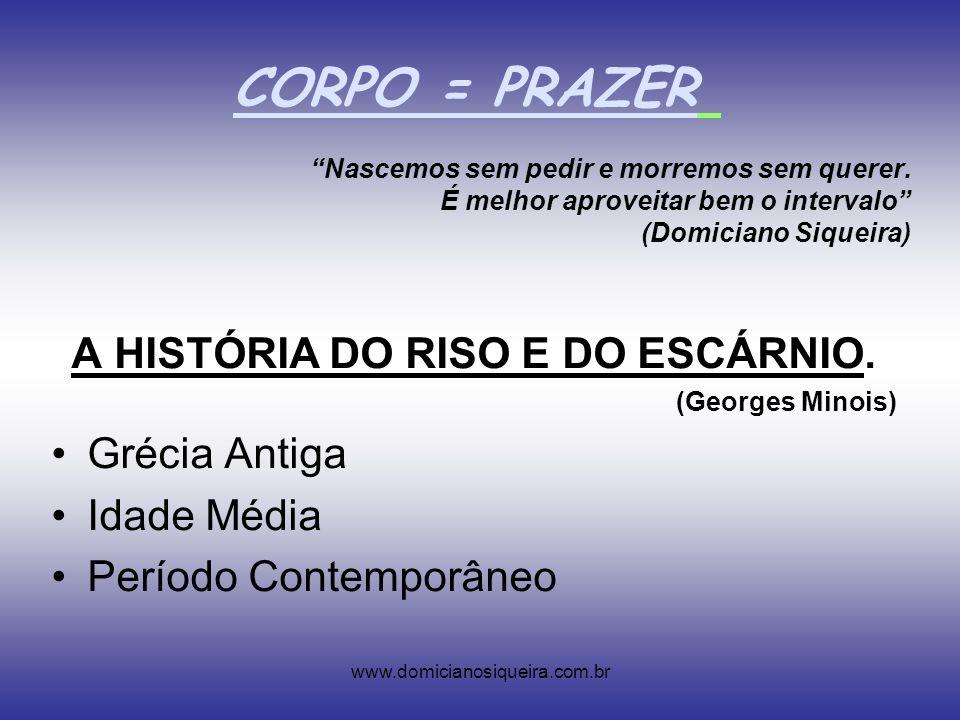 www.domicianosiqueira.com.br Nascemos sem pedir e morremos sem querer.