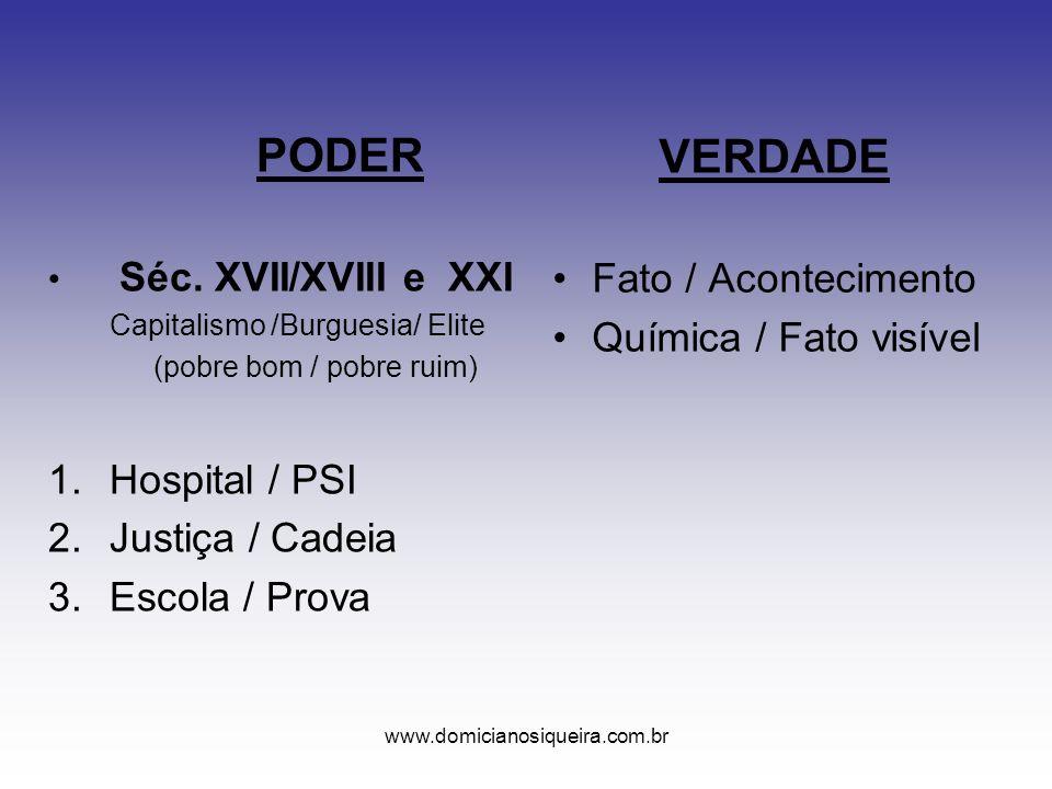 www.domicianosiqueira.com.br PODER Séc.