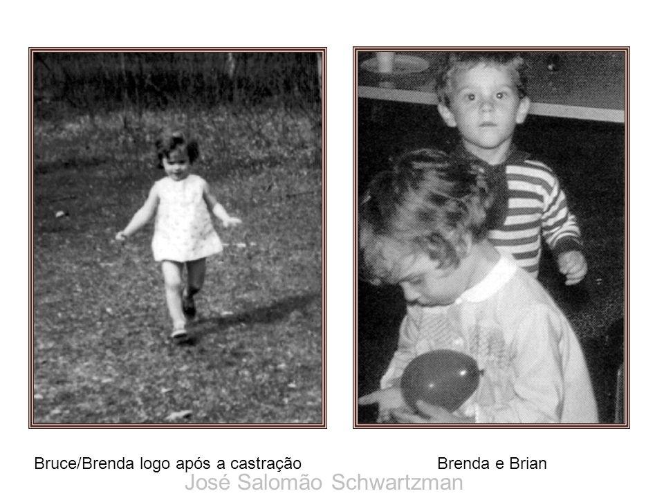 Bruce/Brenda logo após a castração Brenda e Brian José Salomão Schwartzman