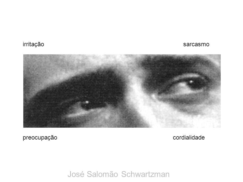 preocupação irritaçãosarcasmo cordialidade José Salomão Schwartzman